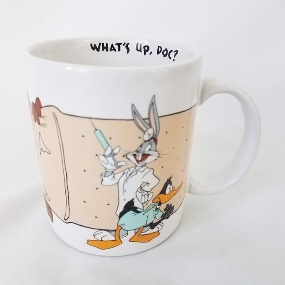 CERAMIC COFFEE MUG LOONEY TUNES CUP ELMER FUDD
